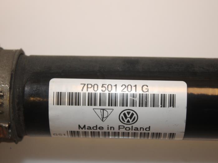 Aandrijfas links-achter Volkswagen Touareg 7P0501201G 5