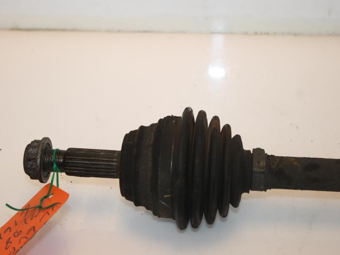 Aandrijfas links-voor Volkswagen Lupo 6H0407451V, 6H0407451X 3