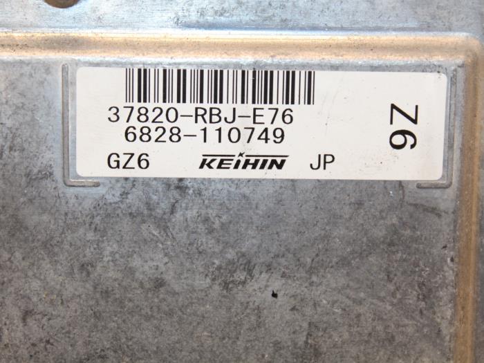 Computer Motormanagement Honda Insight 37820RBJE76, 6828110749 LDA3 4