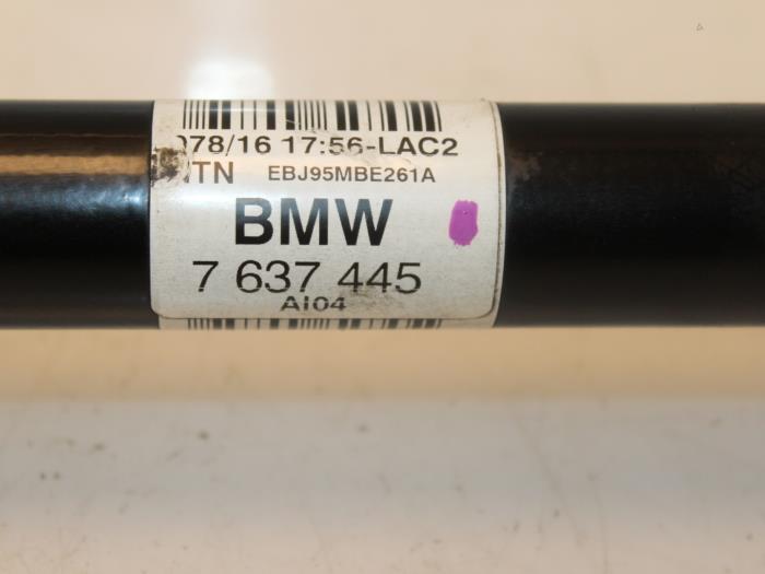Aandrijfas links-achter BMW 3-Serie 33207637445, 7637445 5