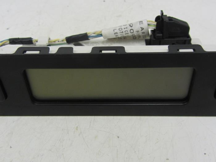 Gebruikte peugeot 807 2 0 16v display interieur for Interieur 807 peugeot