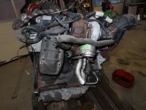 Motor van een Opel Vectra Foto 1