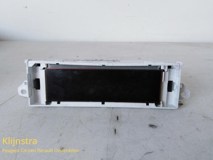 Display Interieur van een Peugeot 307 SW (3H) 2.0 HDi 110 FAP 2002