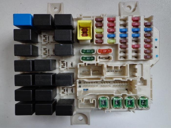 mitsubishi colt fuse box car parts rh broekhuis autos nl colt fuse box location 2005 mitsubishi colt fuse box location
