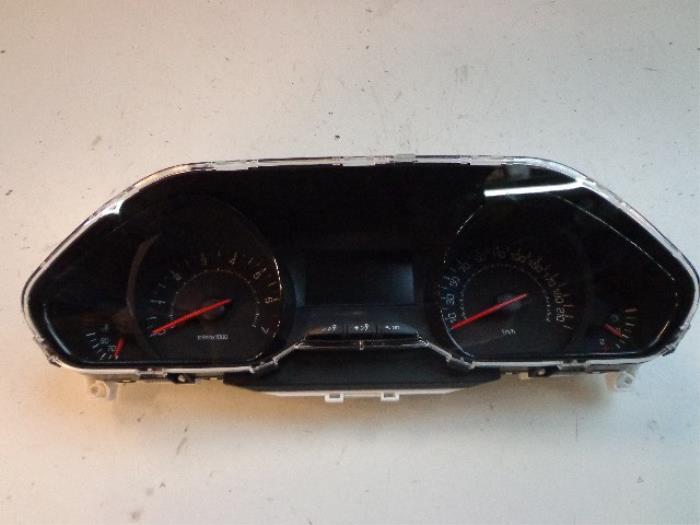 Peugeot 208 Compteur Kilometrique Km Pieces De Voiture