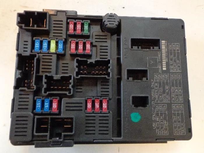 nissan micra fuse box car parts rh broekhuis autos nl Nissan Fuse Box Diagram fuse box nissan micra 2001
