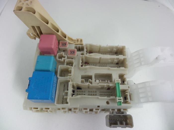Toyota Yaris Fuse box - car parts on