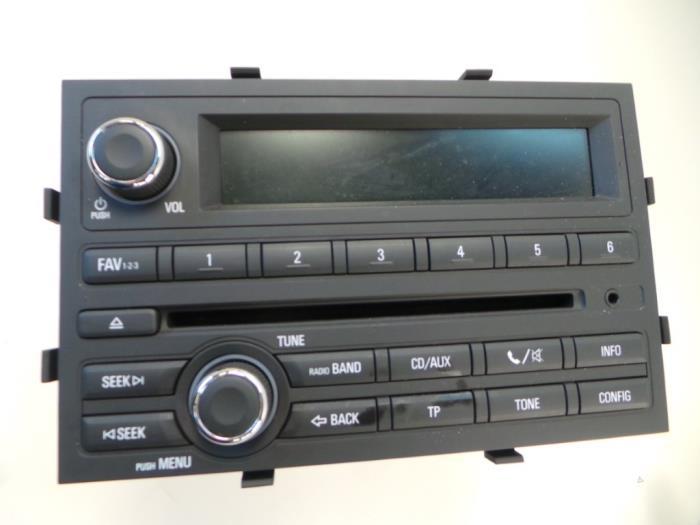Chevrolet Aveo Radio Cd Player Car Parts