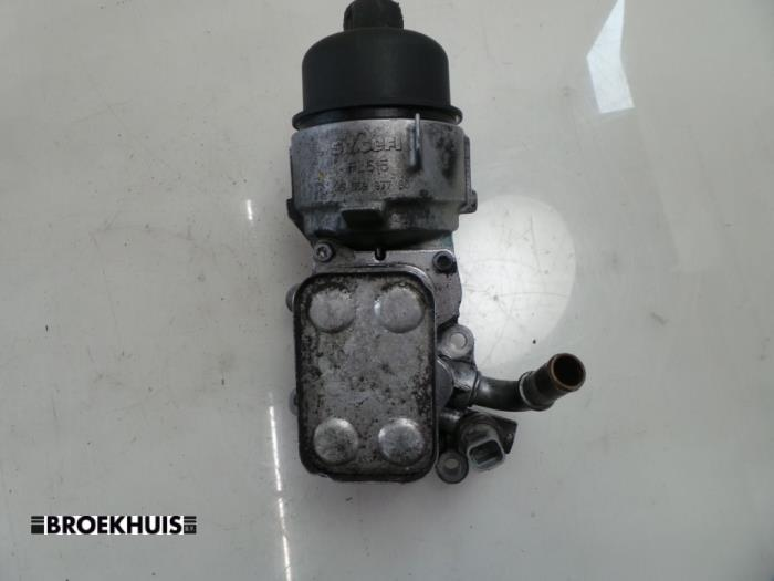 Oil filter housing - car parts