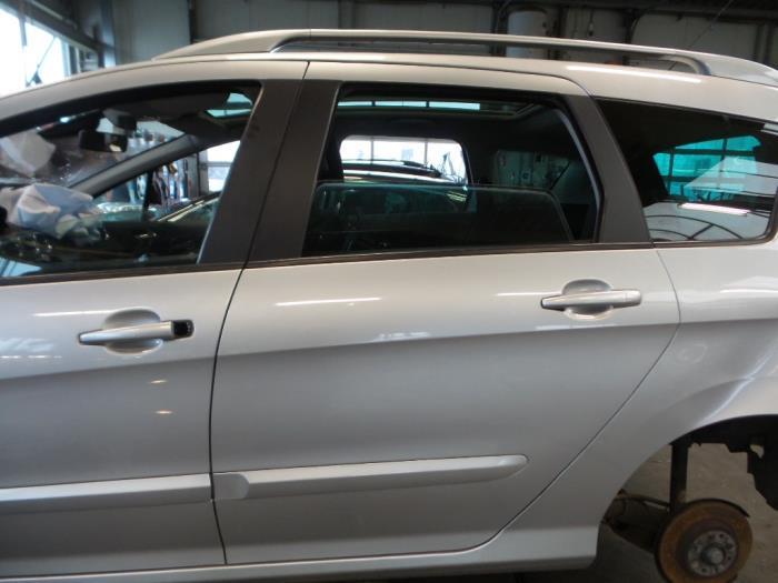 Peugeot 308 Rear door 4-door, left - car parts