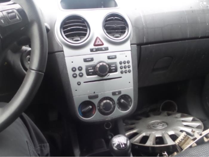 Gebruikte opel corsa d 1 3 cdti 16v ecoflex display for Auto onderdelen interieur