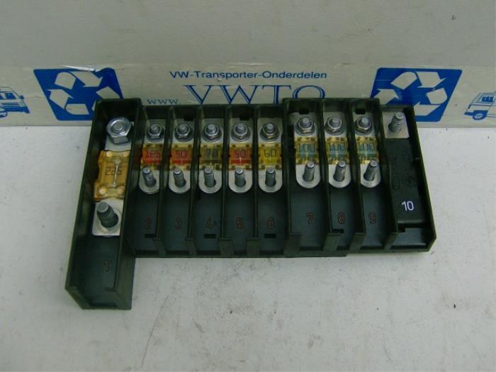 vw parts fuse box