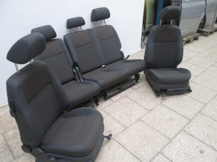 Stoelen+Bank (compleet) voor Volkswagen Caddy abc parts.nl