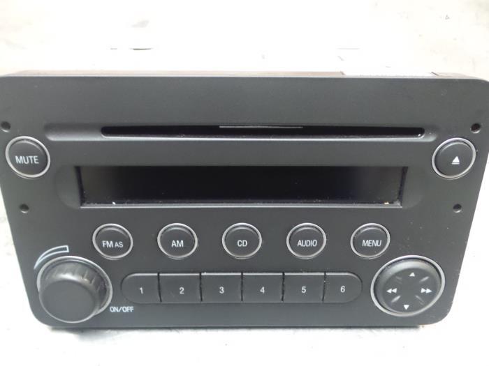 Alfa Romeo 159 Radio CD Speler