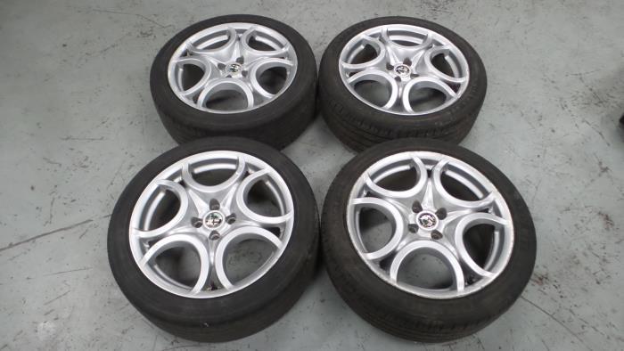 Alfa Romeo Mito Sportvelgen Set
