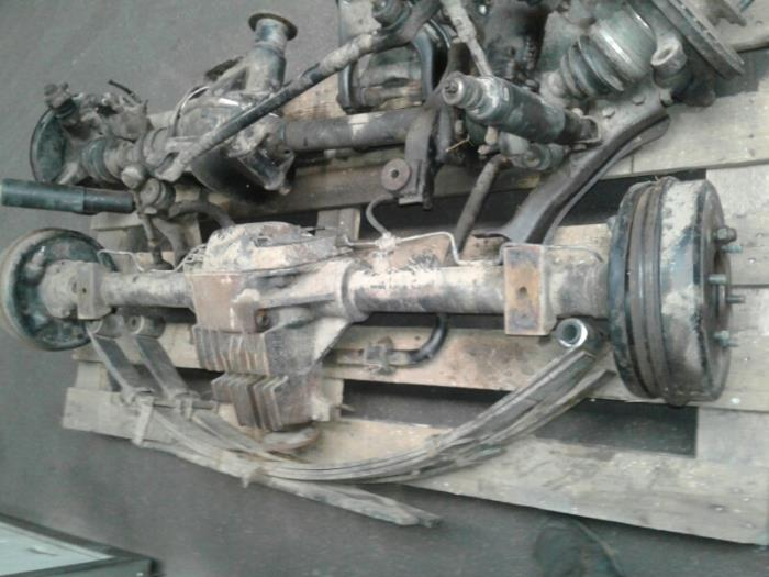 Achteras 4x4 van een Opel Frontera 1994