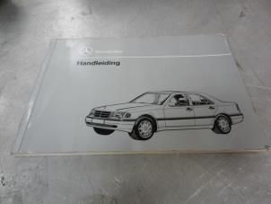 Verwonderlijk Mercedes C-Klasse Instructie Boekjes voorraad | Onderdelenlijn.nl KU-55