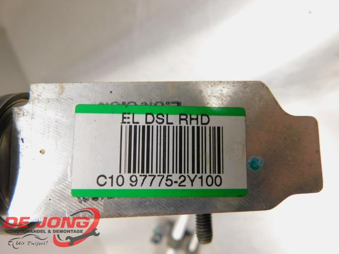 Airco Leiding van een Hyundai iX 35 (LM) 2.0 CRDi 16V 4x4 2012