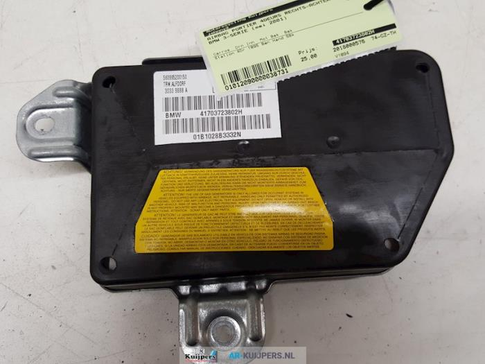 Airbag Portier 4Deurs rechts-achter - BMW 3-Serie