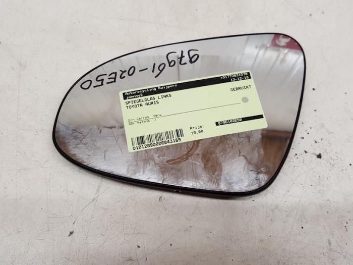 Spiegelglas links - Toyota Auris