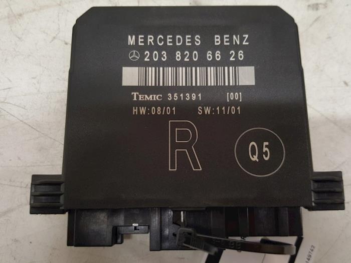 Centrale Deurvergrendelings Module - Mercedes C-Klasse
