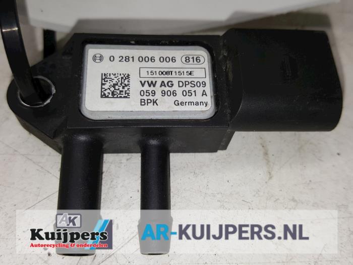 Roetfilter sensor - Audi Q7