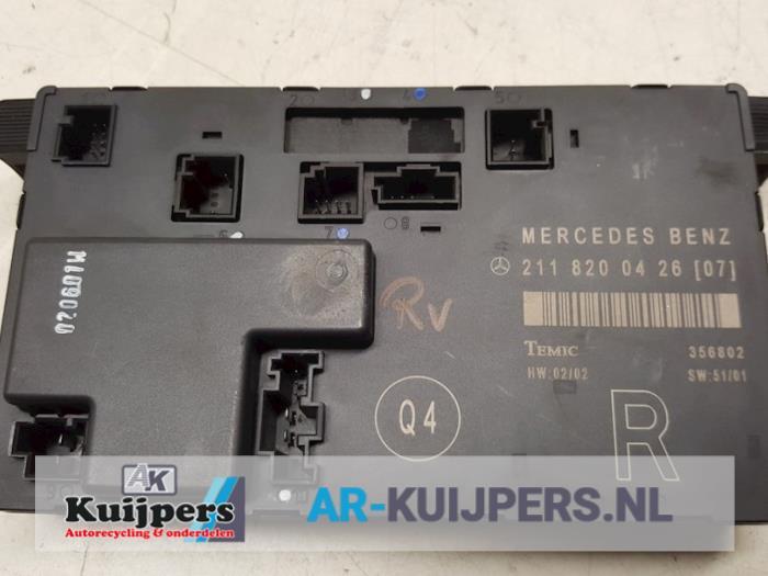 Centrale Deurvergrendelings Module - Mercedes E-Klasse