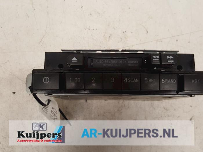 Radio/Cassette - Toyota Yaris