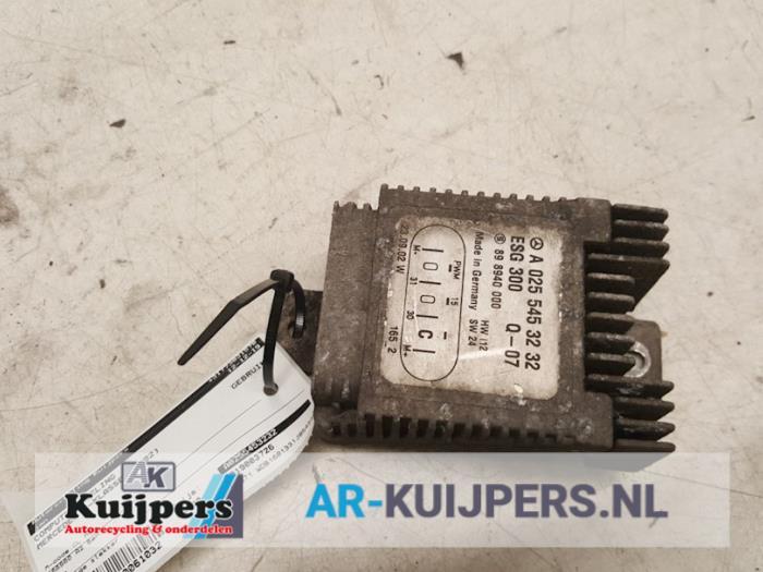 Computer Koeling - Mercedes A-Klasse