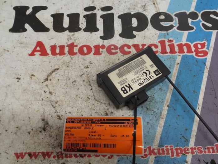Bandenspanning module - Opel Vectra