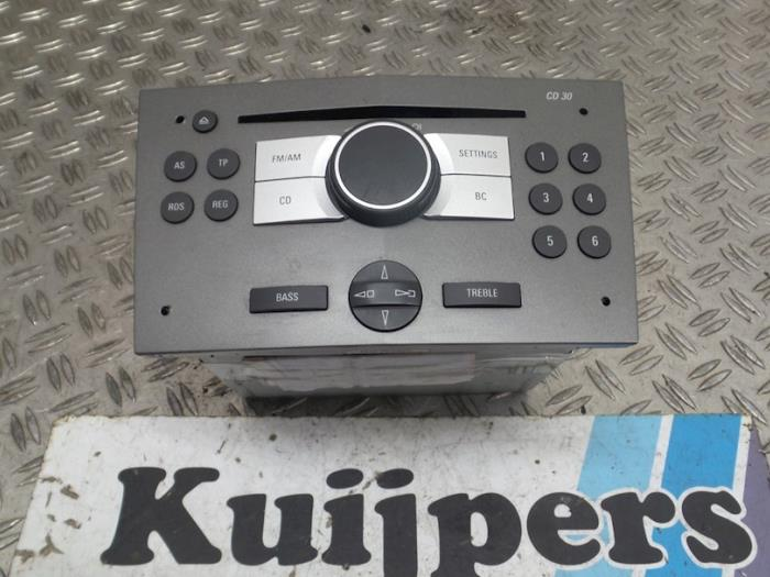 Radio - Opel Zafira