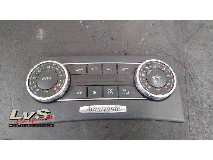Mercedes C-Klasse Airco bedieningspaneel