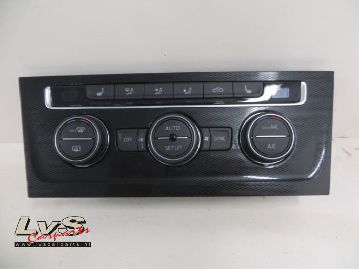 Volkswagen Golf Airco bedieningspaneel