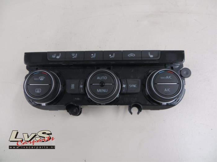 Volkswagen Passat Airco bedieningspaneel