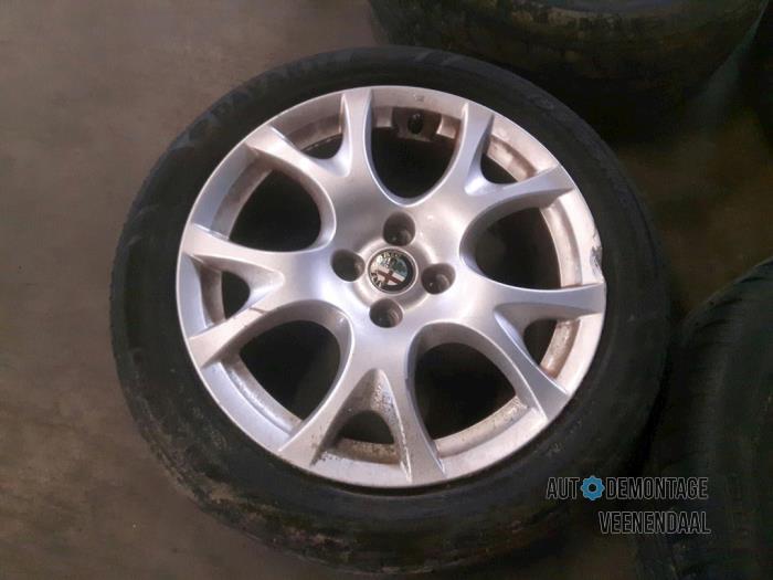 Velgen Set Banden Voor Alfa Romeo Mito