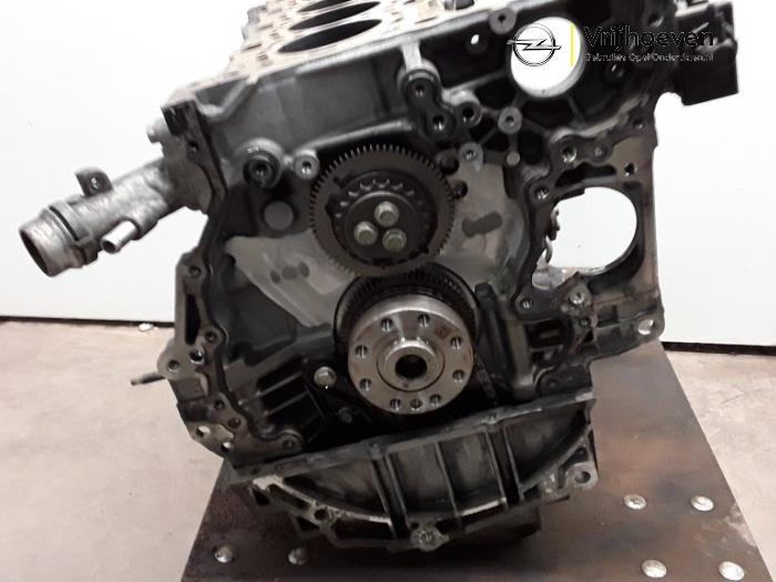 Motor Onderblok van een Opel Astra K 1.6 CDTI 136 16V 2015