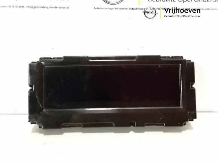 Display Interieur van een Opel Astra J (PC6/PD6/PE6/PF6) 1.4 16V ecoFLEX 2011