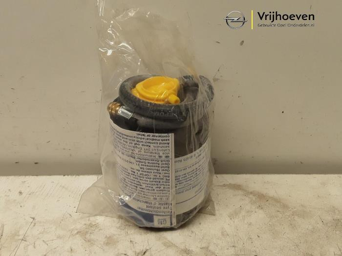 Reparatieset banden van een Opel Astra H (L48) 1.4 16V Twinport 2005