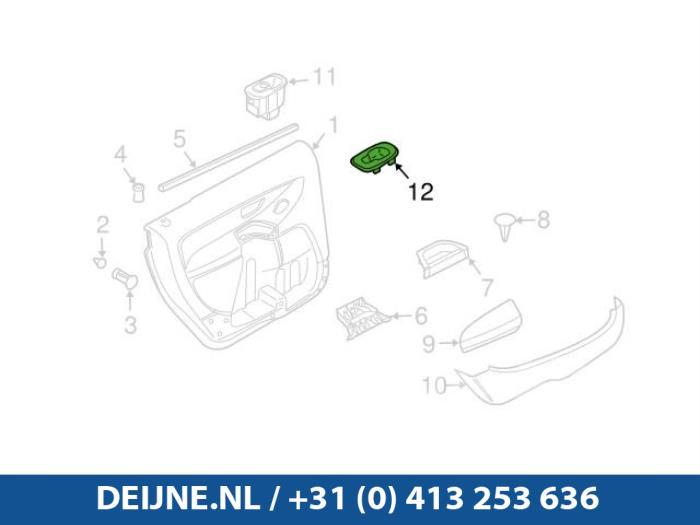 Elektrisch Raam Schakelaar - Volvo XC90