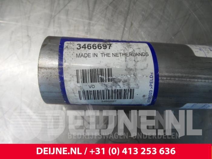 Uitlaat Einddemper - Volvo 4-Serie