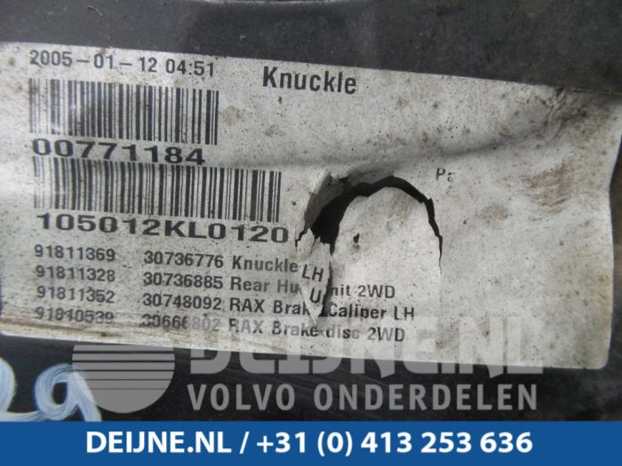 Fusee houder rechts-achter - Volvo V50