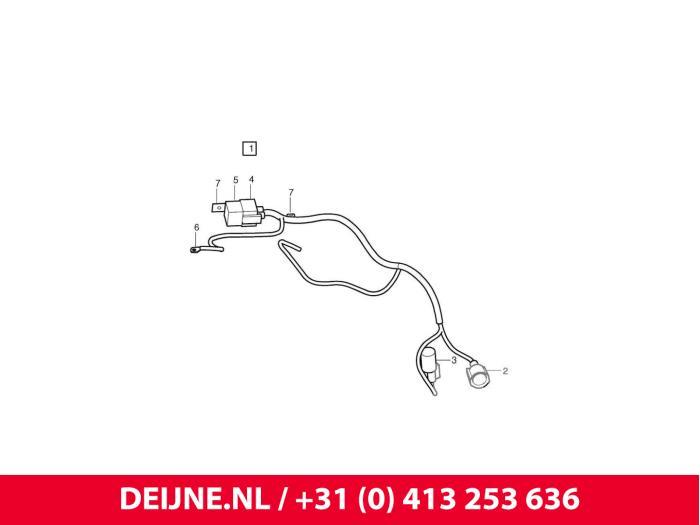Koelvin relais - Volvo V50