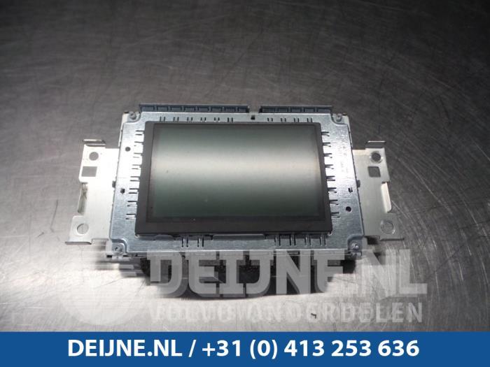 Display Multi Media regelunit - Volvo V60