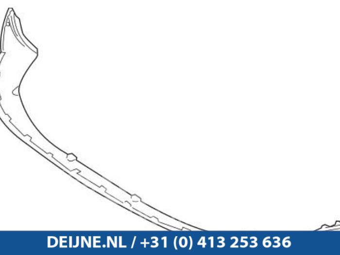 Spoiler voorbumper - Volvo V50