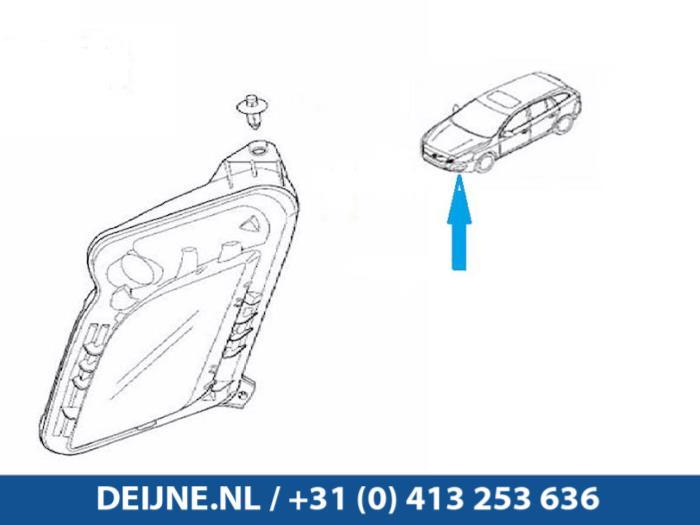 Dagrijverlichting links - Volvo V60