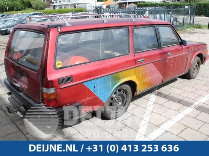 Extra Ruit 2Deurs rechts-achter - Volvo 2-Serie