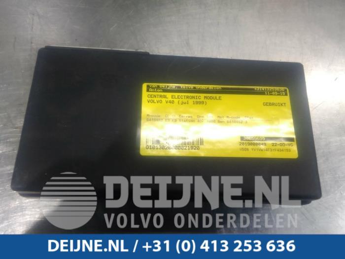 Central electronic module - Volvo V40