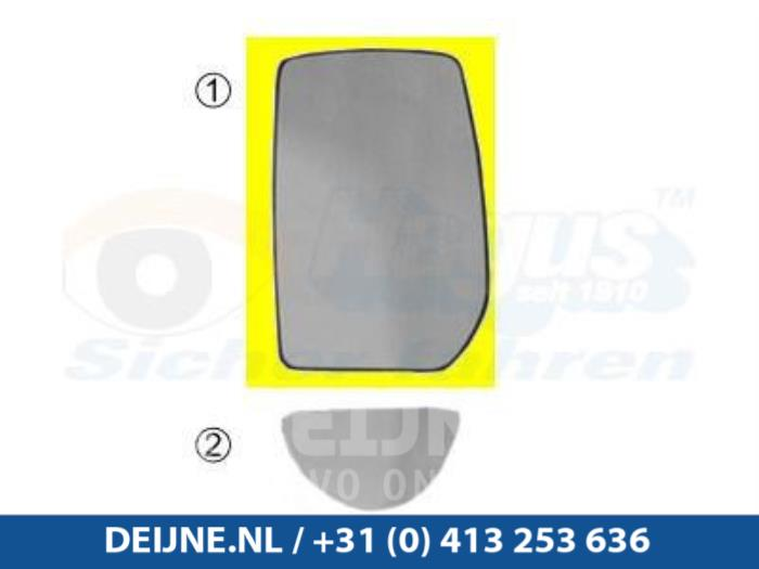 Spiegelglas links - Ford Transit
