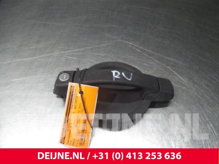 Portiergreep 2Deurs rechts - Fiat Doblo
