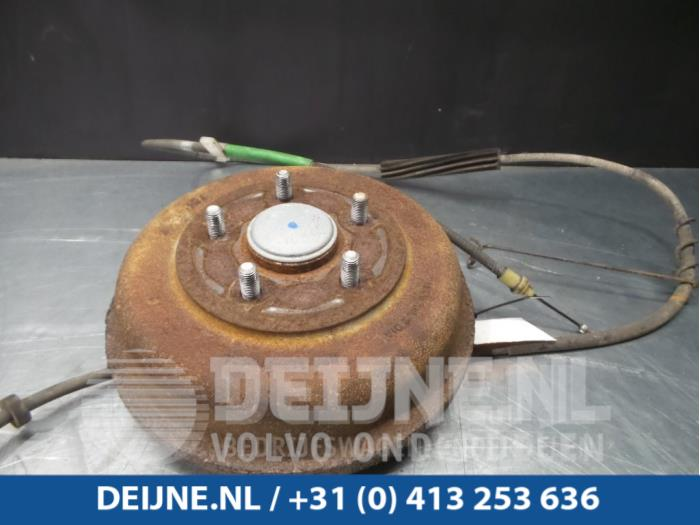 Wielnaaf achter - Ford Transit Connect